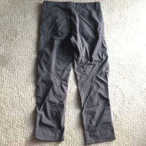 Marmot Pants - Light weight gray Marmot hiking pants